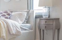 Dodatki w sypialni w stylu skandynawskim