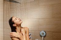 Prysznic z podtynkową baterią termostatyczną