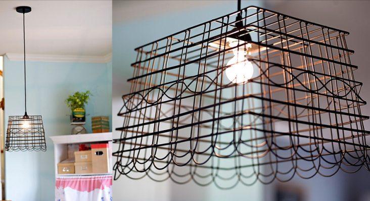 jak zrobic ozdobne lampy do kuchni