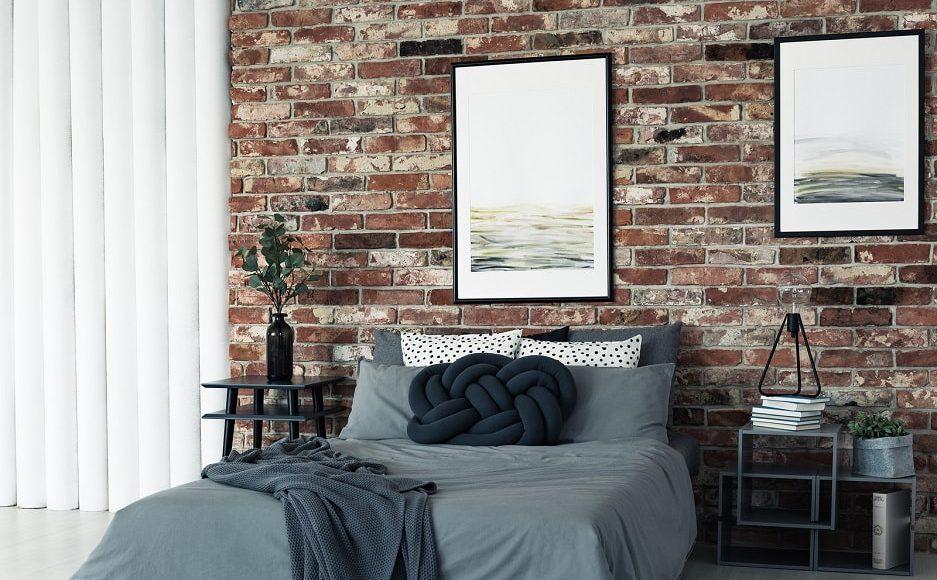 Jak Wykorzystać Płytki Z Cegły W Sypialni