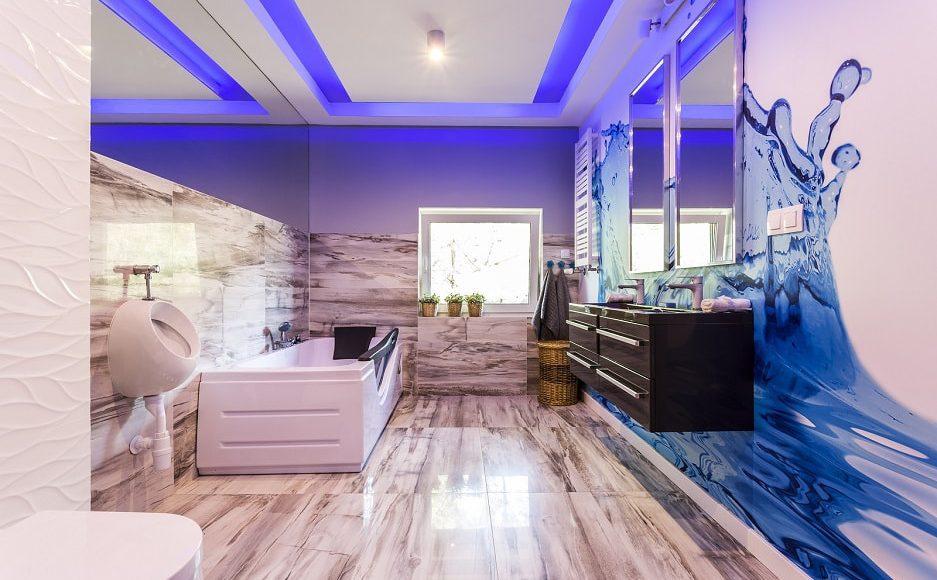 Praktyczne Luksfery I Eleganckie Panele Szklane Do łazienki