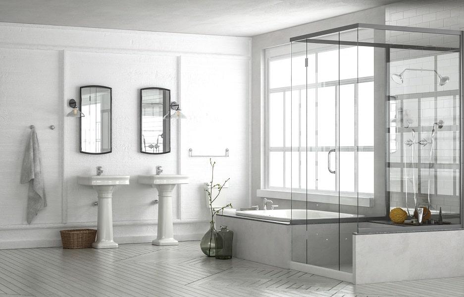 Kinkiet łazienkowy Sprawdź Jak Pięknie Rozświetlić łazienkę