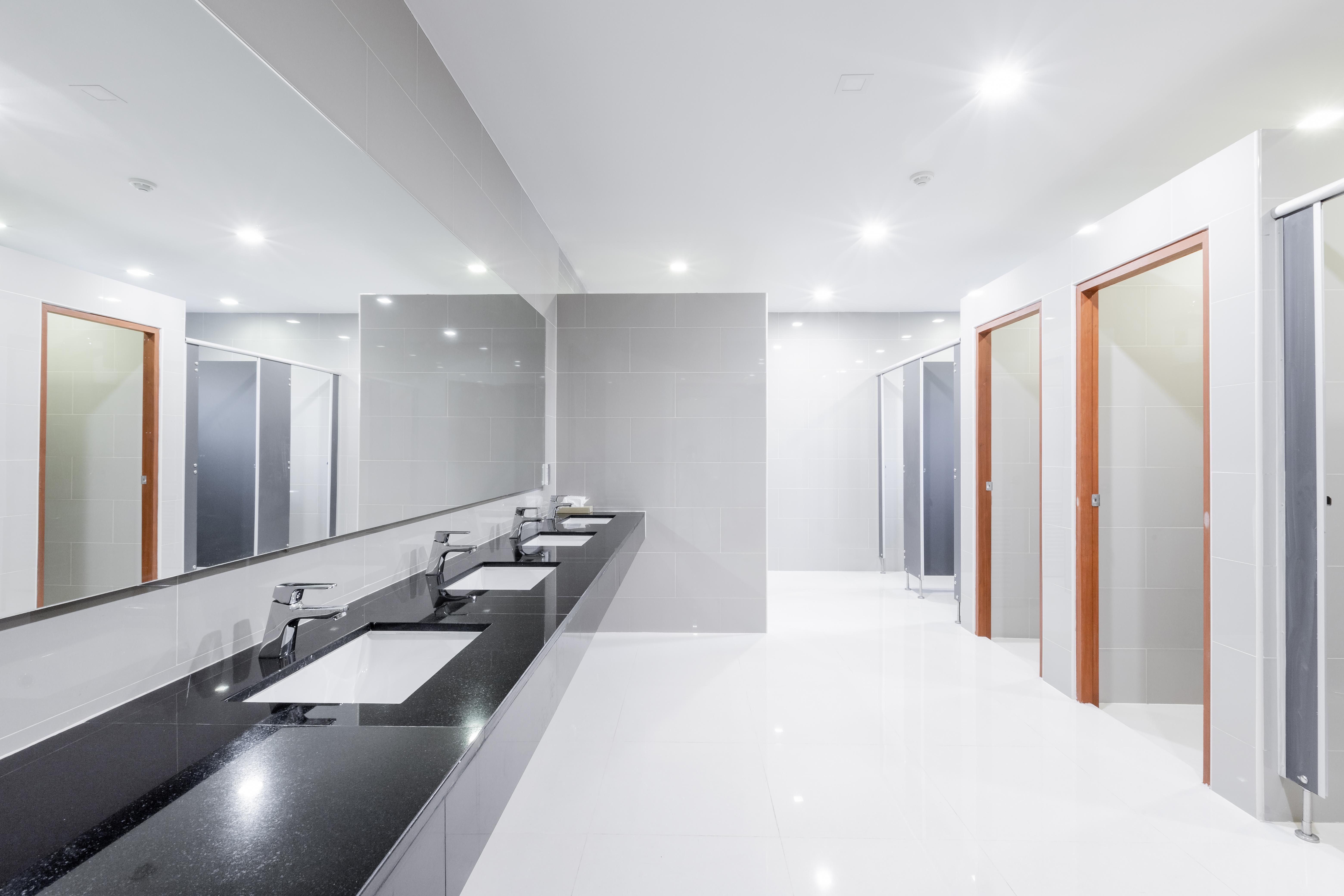 Wyposażenie łazienki w obiekcie publicznym - rozwiązania