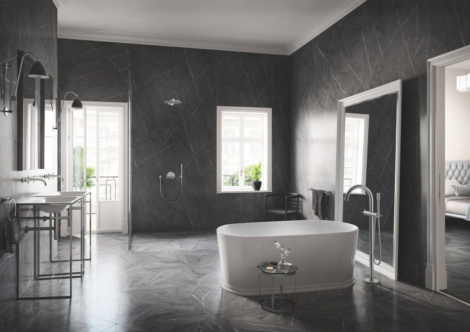 Łazienka z armaturą łazienkową GROHE
